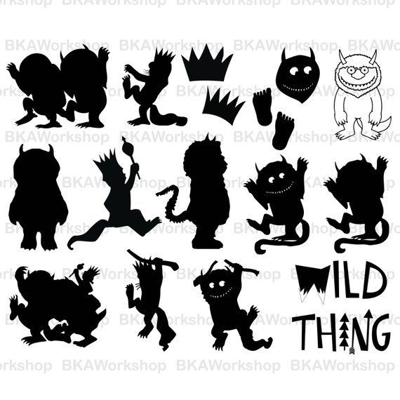 Where the wild things are max clipart clip art library stock Where The Wild Things Are Clipart | salaharness.org clip art library stock