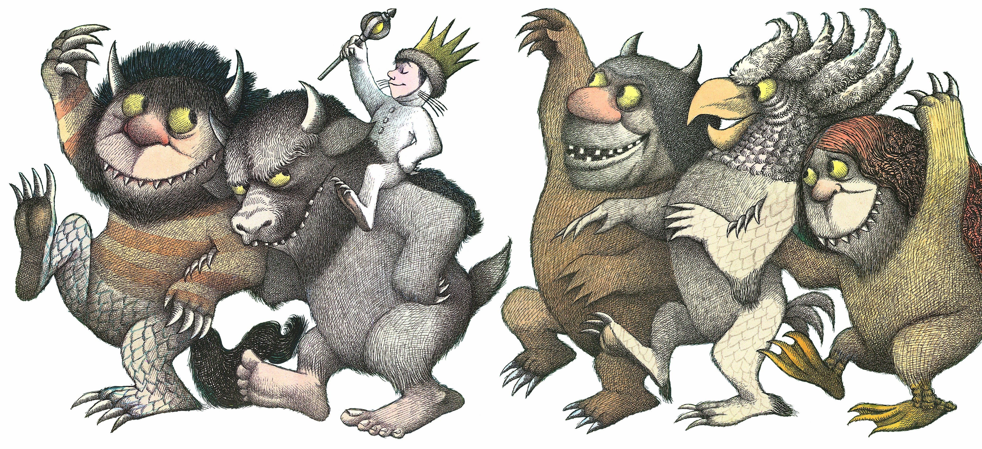Where the wild things are monster clipart picture library download Where The Wild Things Are Clipart | salaharness.org picture library download