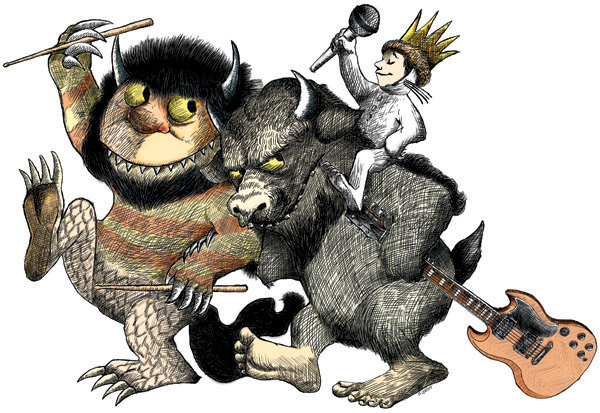Where the wild things are monster clipart banner black and white stock Free Wild Thing Cliparts, Download Free Clip Art, Free Clip ... banner black and white stock