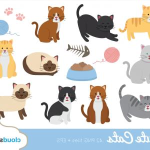 Where to buy cute clipart graphic library stock Buy Get Free Cute Cat Clipart Cat   SOIDERGI graphic library stock