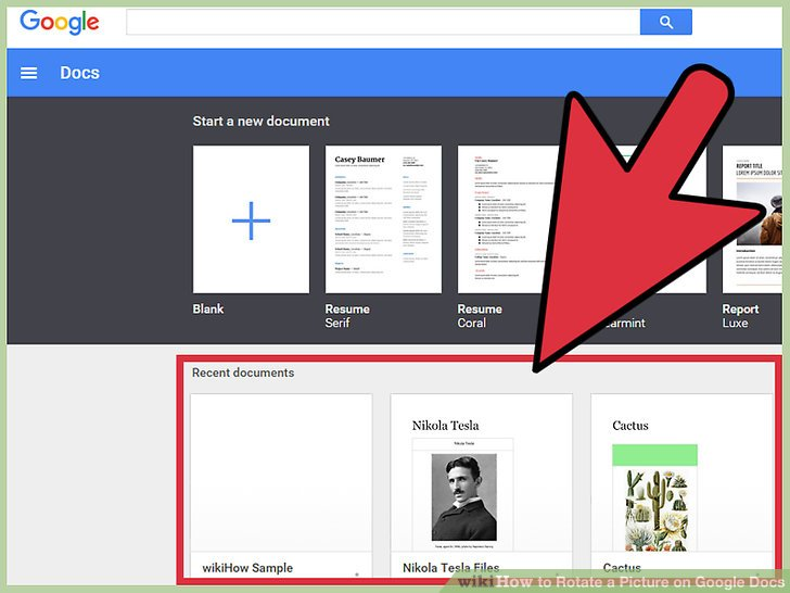 Where to find clipart in google sheets vector How to Rotate a Picture on Google Docs: 10 Steps (with Pictures) vector