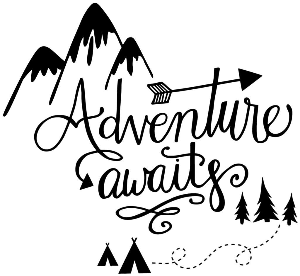 Whight cat adventurer clipart image black and white download Adventure awaits clipart clipart images gallery for free ... image black and white download