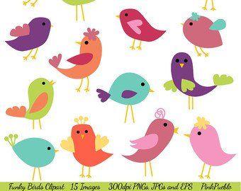 Whimsical bird clipart banner stock Bird clipart - little birds clip art baby birds whimsical ... banner stock