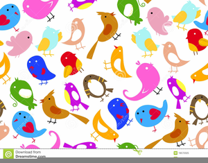 Whimsical bird clipart clipart royalty free download Whimsical Birds Clipart | Free Images at Clker.com - vector ... clipart royalty free download