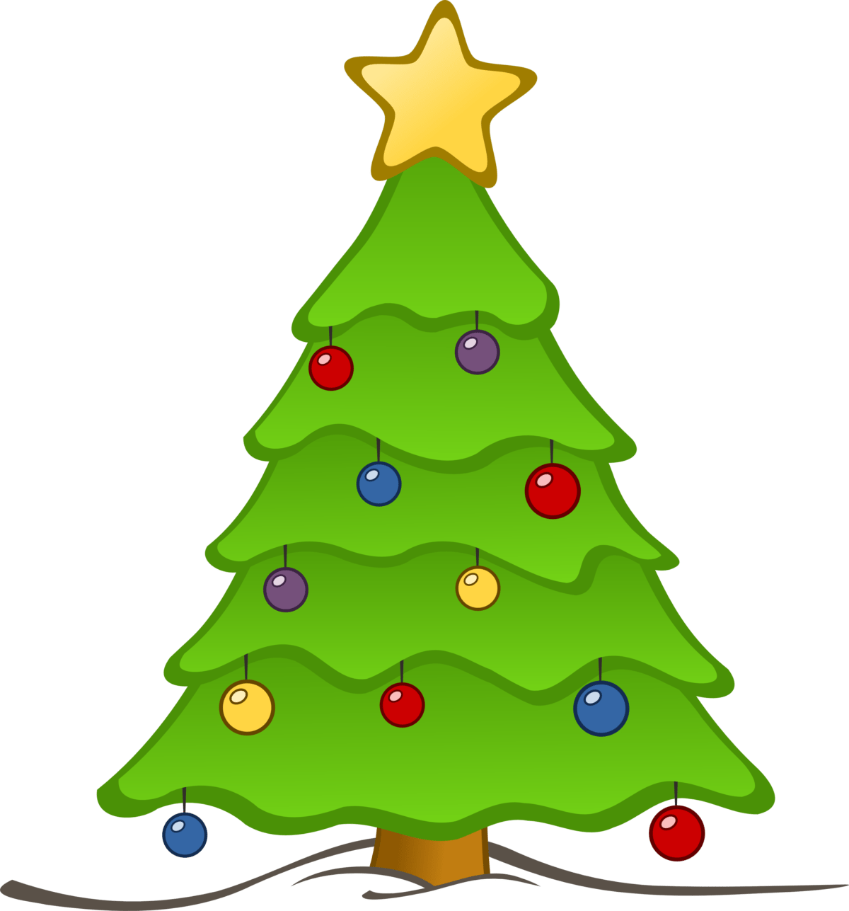 Whimsical christmas clipart jpg library stock 18new Christmas Tree Images Clip Art - Clip arts & coloring pages jpg library stock