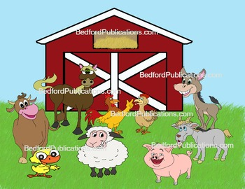 Whimsical farm clipart picture royalty free library Clipart: Happy Farm Animals picture royalty free library