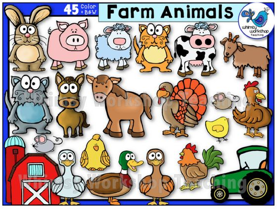 Whimsical farm clipart banner freeuse download Free Whimsical Animal Cliparts, Download Free Clip Art, Free ... banner freeuse download