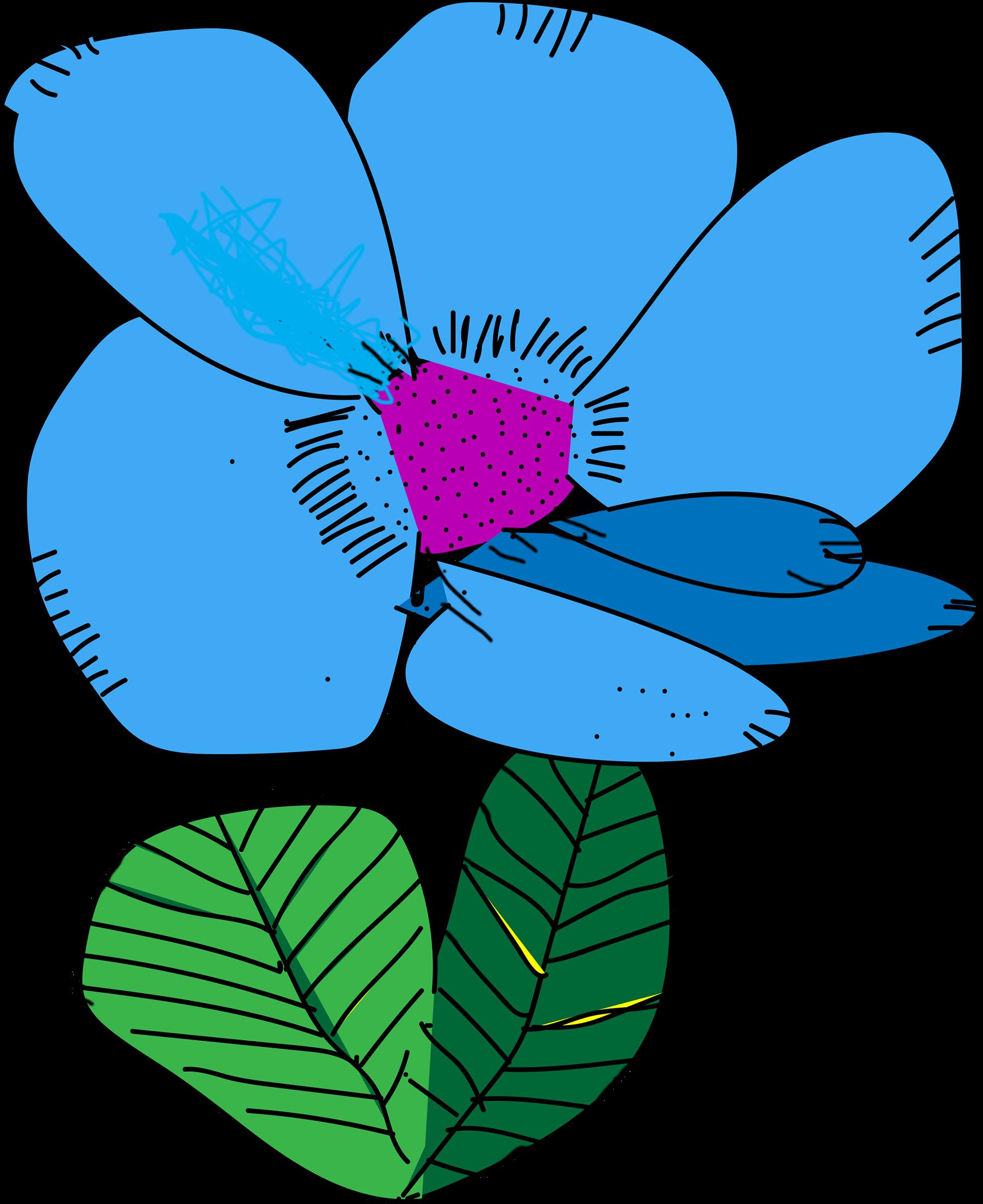 Whimsical flower clipart vector Pamela Phillips - Whimsical Flowers vector