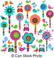 Whimsical flowers clip art freeuse download Whimsical Illustrations and Clipart. 6,308 Whimsical royalty free ... freeuse download