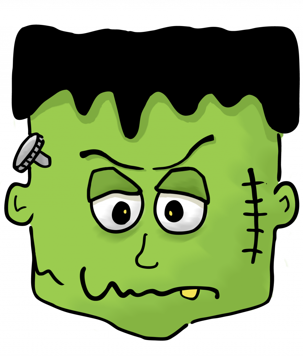 Whimsical halloween clipart png free library Free Frankenstein Clipart | Free download best Free Frankenstein ... png free library