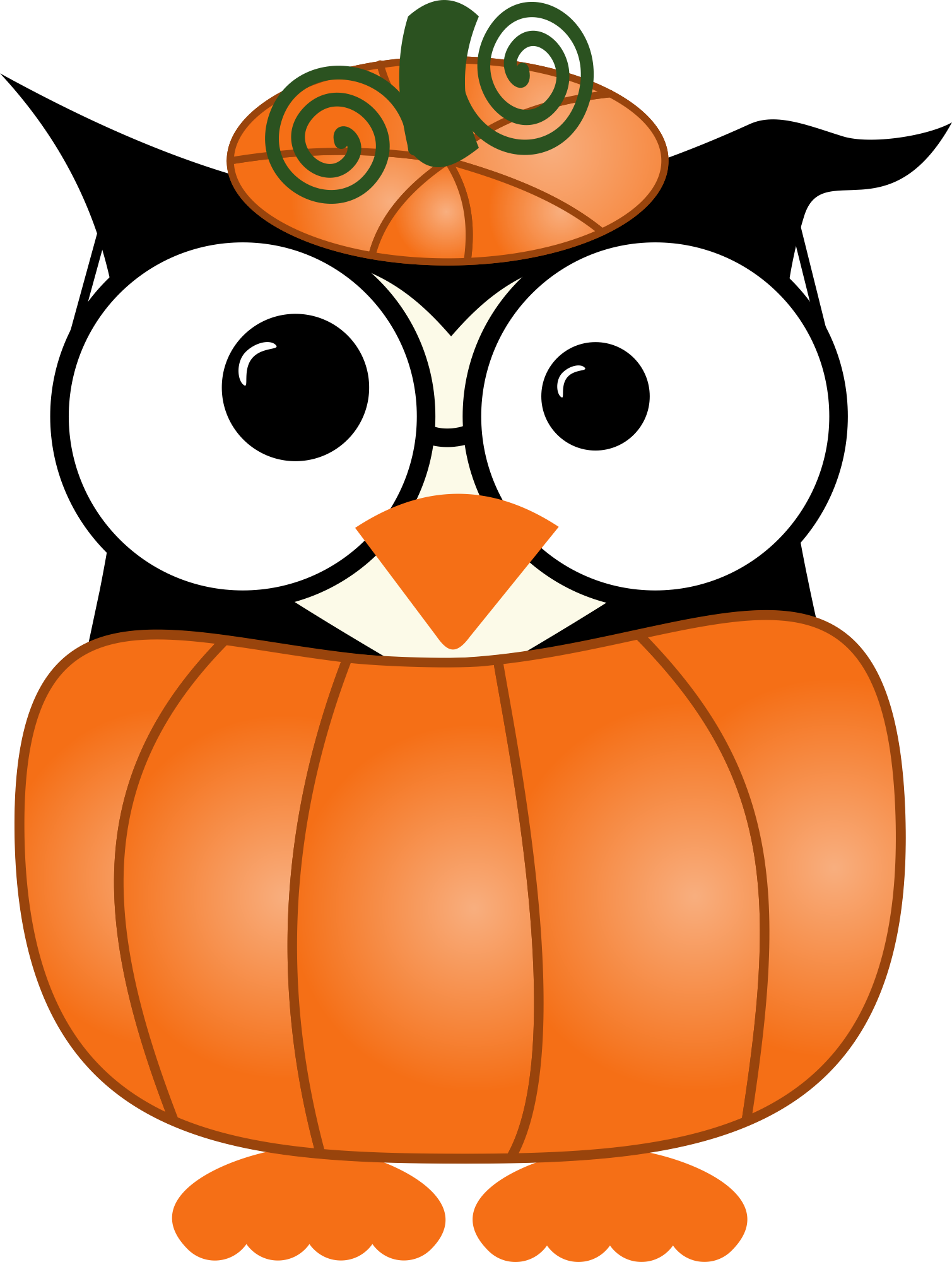 Whimsical halloween clipart image black and white download Photo by @daniellemoraesfalcao - Minus | Buhos | Pinterest | Owl ... image black and white download