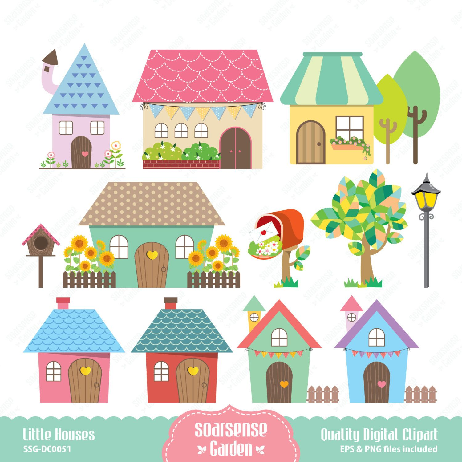 Whimsical houses clipart images clip art black and white stock cute home illustration - Google Search | Houses Clipart ... clip art black and white stock