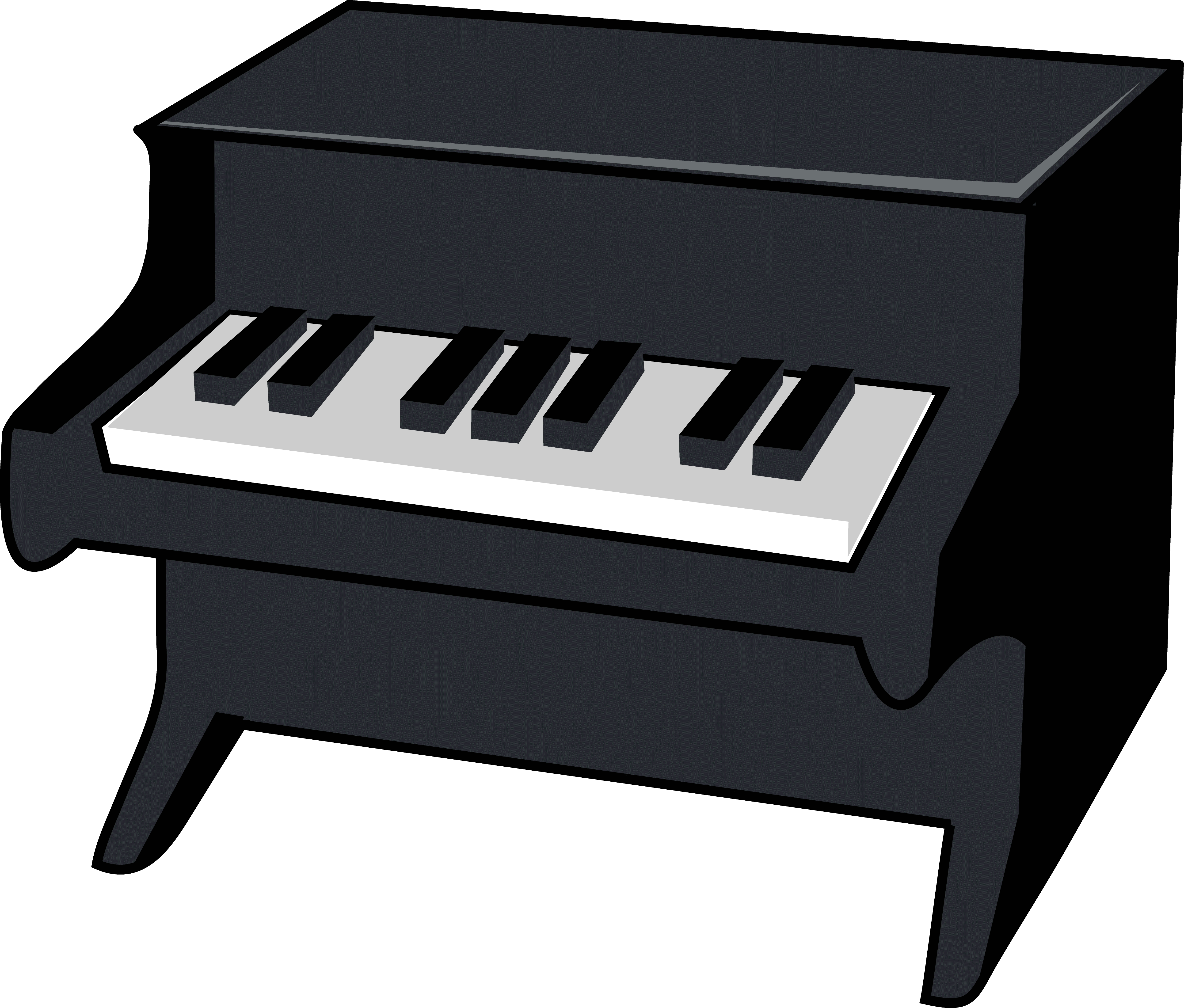 Whimsical piano clipart vector download Piano clipart free download on WebStockReview vector download