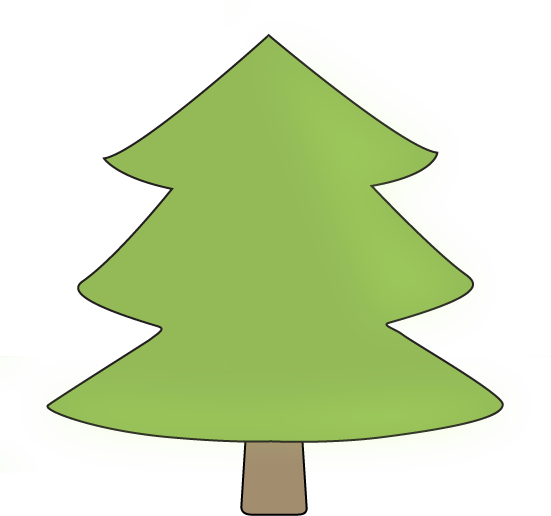 Whimsical pine tree clipart image freeuse stock Free Pine Tree Outline, Download Free Clip Art, Free Clip ... image freeuse stock