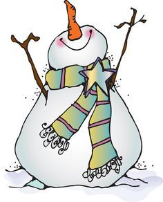 Whimsical snowman clipart png royalty free library Free Snowman Clipart - The Cliparts | Santas and Snowmen ... png royalty free library