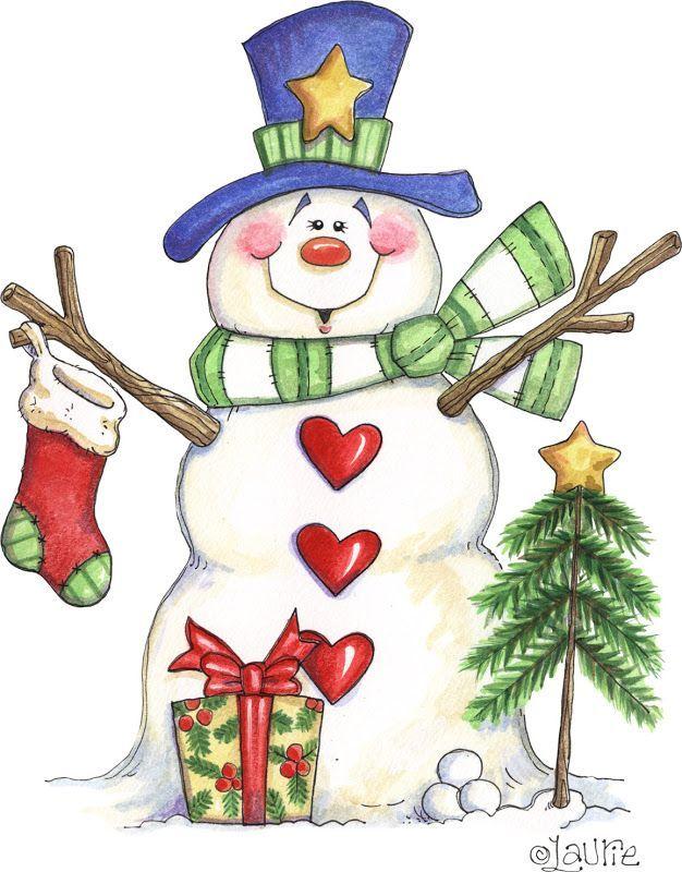 Whimsical snowman clipart jpg free Image result for whimsical snowmen clip art | Primitive ... jpg free
