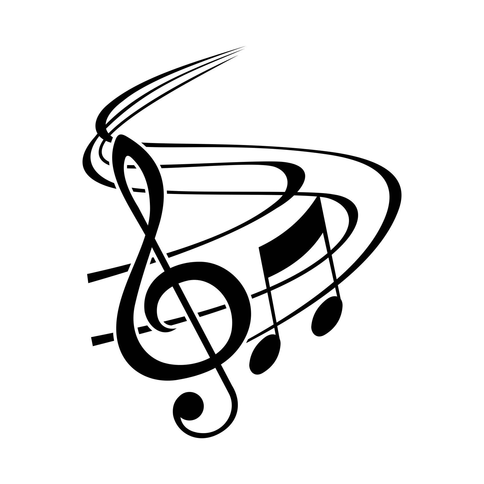 Whimsical treble clef clipart png graphic black and white stock Pin szerzője: Sülle Katalin, közzétéve itt: Music ekkor ... graphic black and white stock