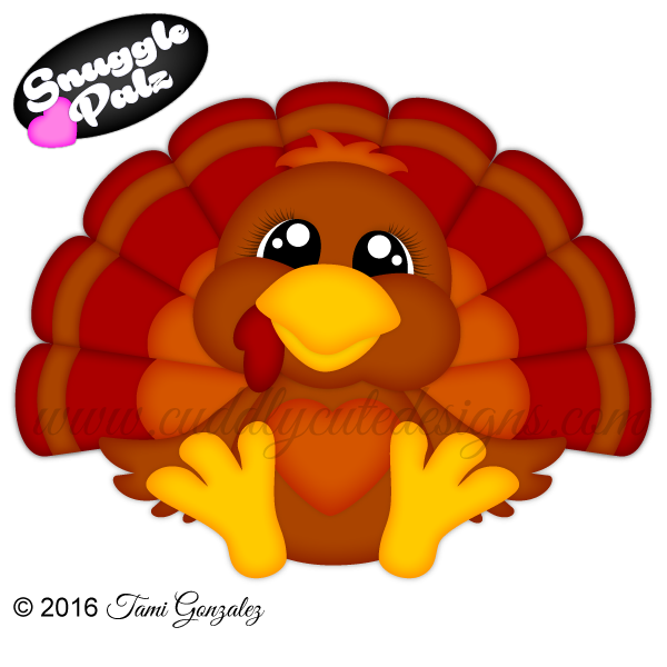 Whimsical turkey clipart thanksgiving wallpaper picture freeuse stock Snuggle Palz Turkey | Thanksgiving (Clip Art) | Pinterest | Fall ... picture freeuse stock