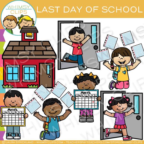 Whimsy clips clipart celebration clip art download Last Day of School Clip Art clip art download