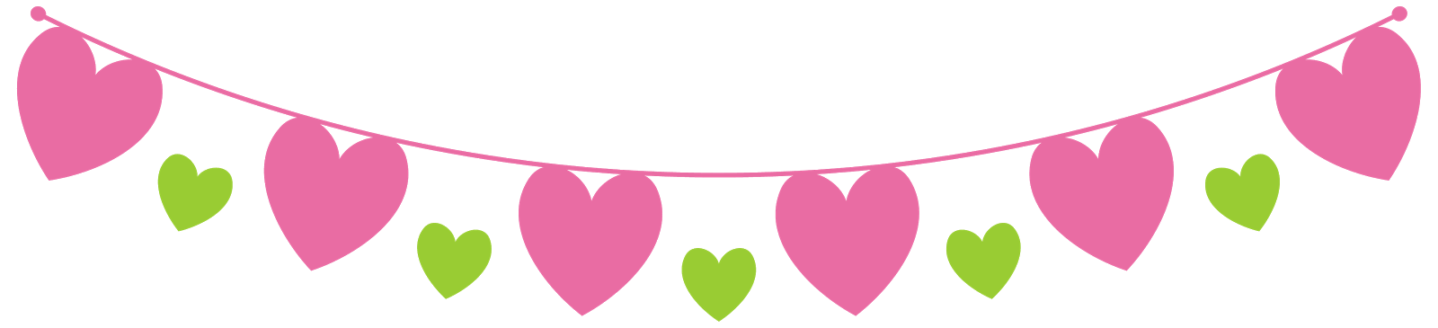 Whimsy heart clipart banner transparent stock ♥ it's a berry sweet life ♥: ~i heart you~ banner transparent stock