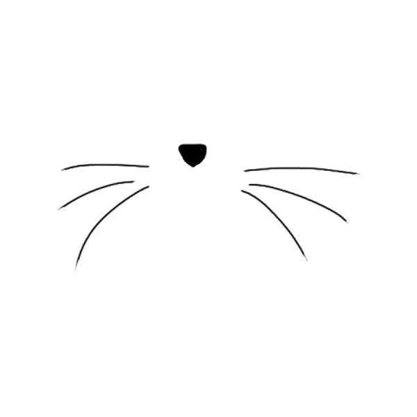 Whisker clipart image black and white stock Whiskers clipart 2 » Clipart Station image black and white stock