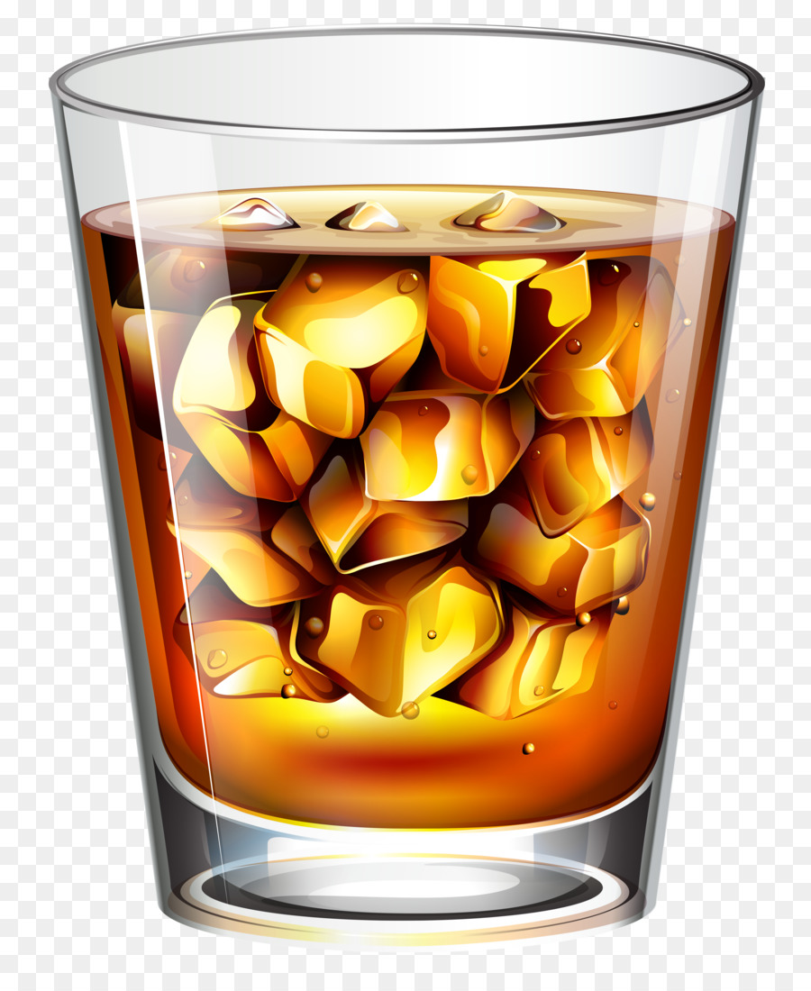 Whiskey clipart transparent