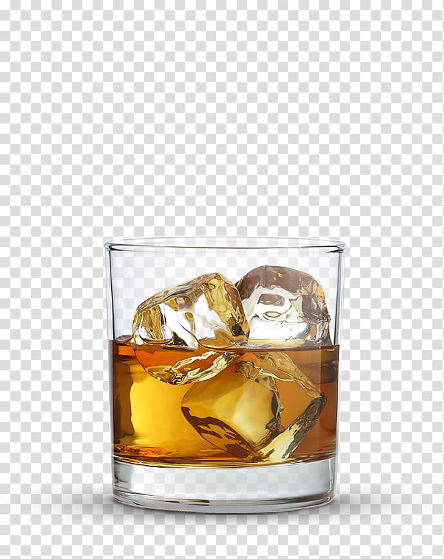 Whiskey old fashioned clipart black and white image library stock Shot glass with ice and liquor, Rye whiskey Old Fashioned ... image library stock