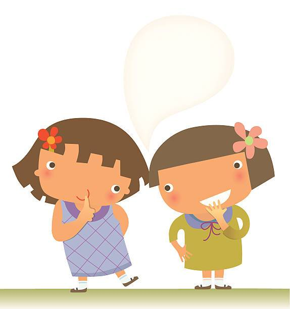 Whispering kids clipart free stock Kids whispering clipart 2 » Clipart Portal free stock