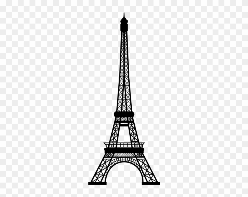 White and black eiffel tower drawing side view clipart black and white library Download Free png 0, Eiffel Tower Black And White Clipart ... black and white library