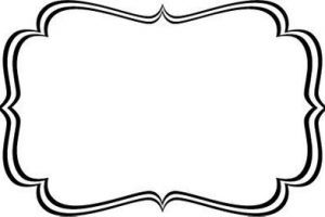 White and black label clipart svg black and white library Black And White Label Templates   Professional Template ... svg black and white library