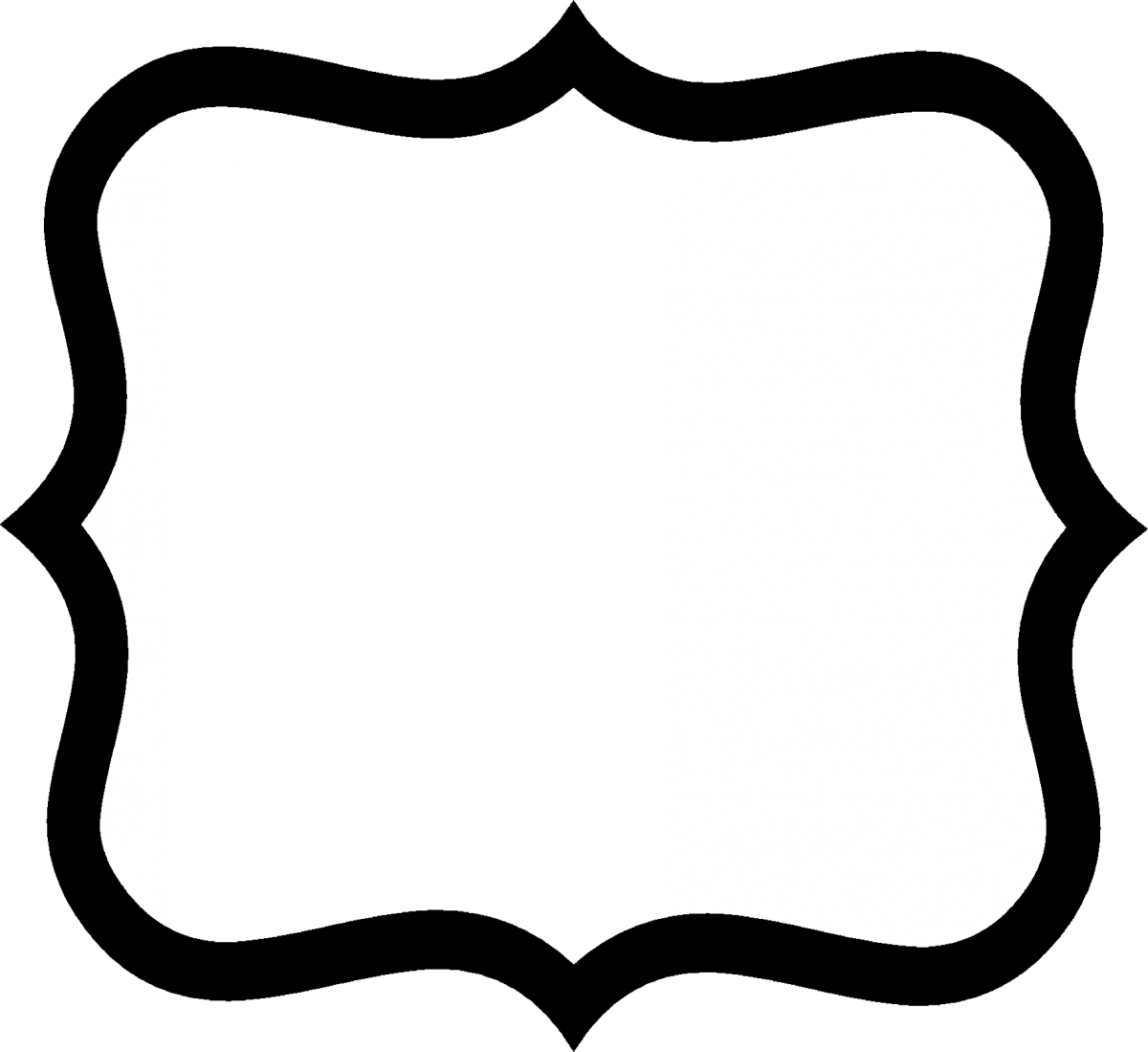 White and black label clipart clip transparent stock fancy shape outlines - Google Search   Gettin\' Crafty with ... clip transparent stock