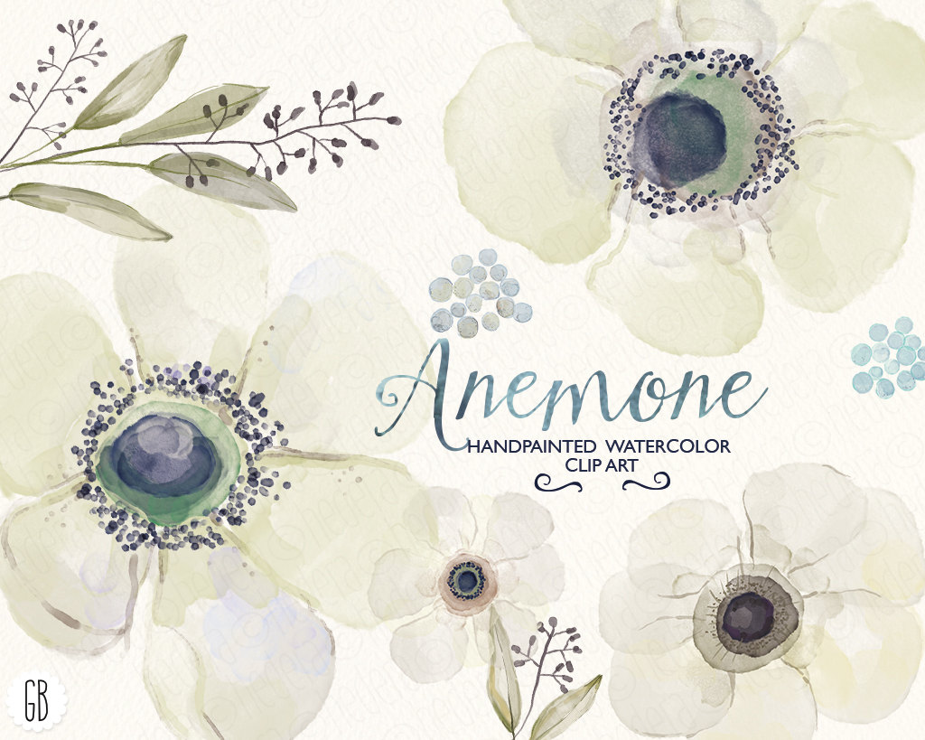 White anemone flower clipart png freeuse library Free Anemone Flower Cliparts, Download Free Clip Art, Free ... png freeuse library
