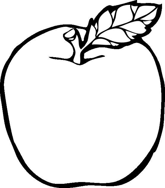 White apple clip clipart transparent clip art black and white library clipartist.net » Clip Art » apple black white line art SVG clip art black and white library