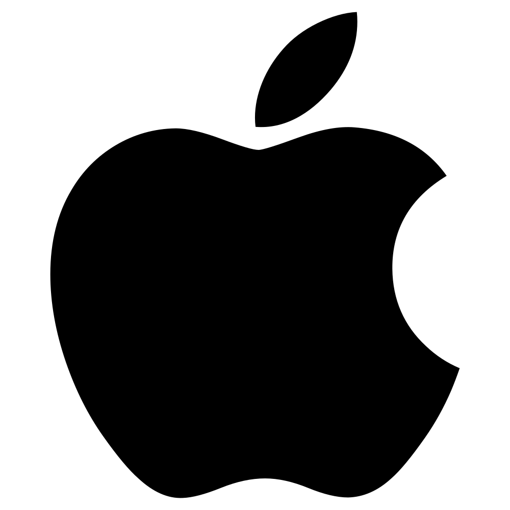 White apple logo clipart vector transparent Datei:Apple logo black.svg – Wikipedia vector transparent