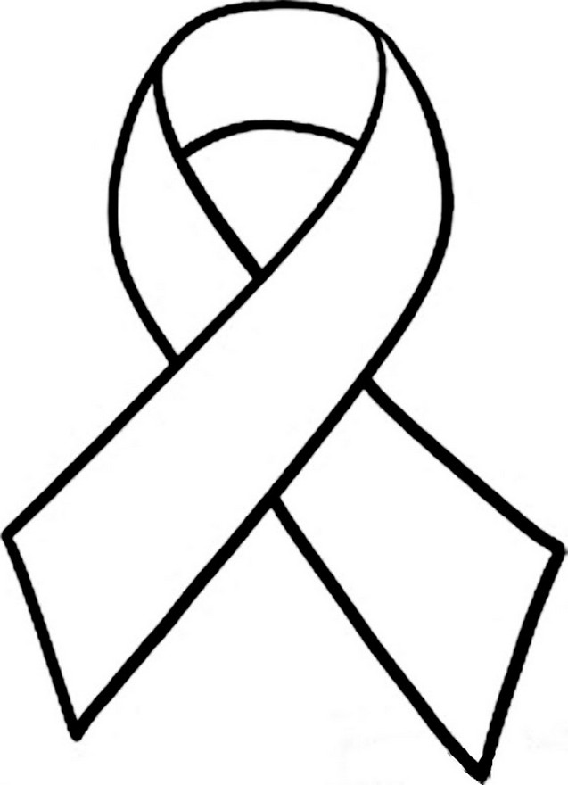 White awareness ribbon clipart vector black and white library Free Awareness Ribbon, Download Free Clip Art, Free Clip Art ... vector black and white library