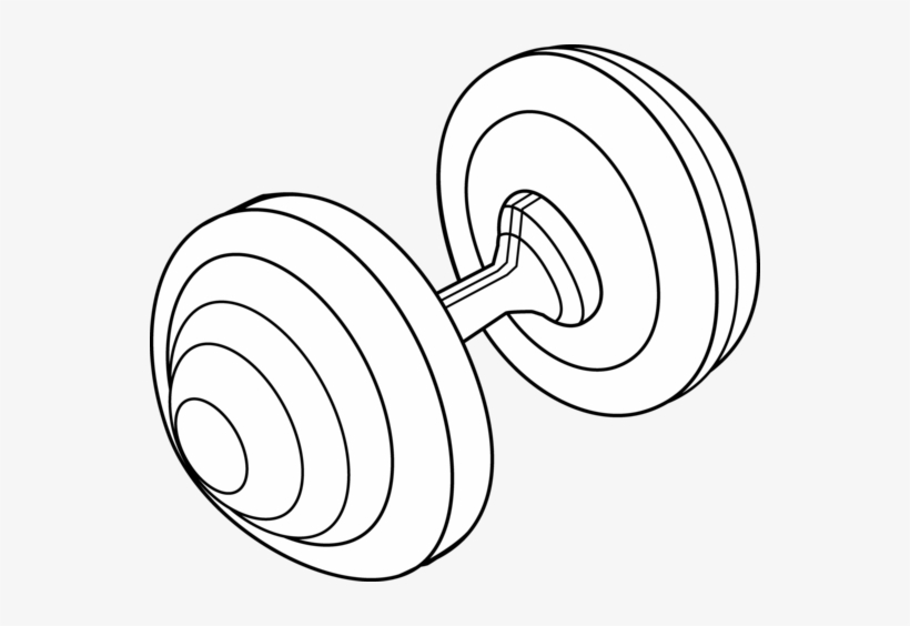 White barbell clipart graphic library download Dumbbells Clipart Black And White - Barbell Clipart Black ... graphic library download