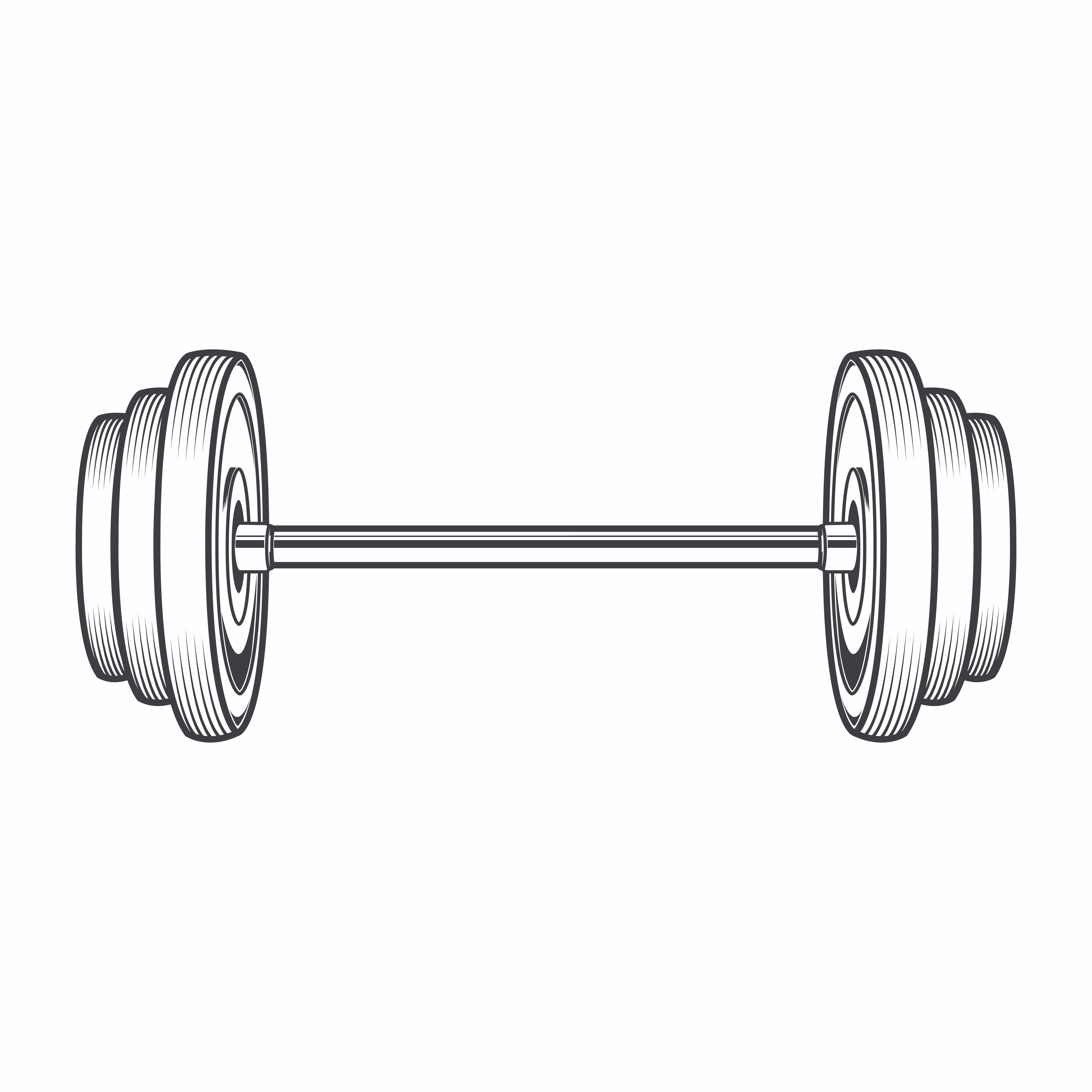 White barbell clipart png download Bent Barbell Clipart   Free download best Bent Barbell ... png download
