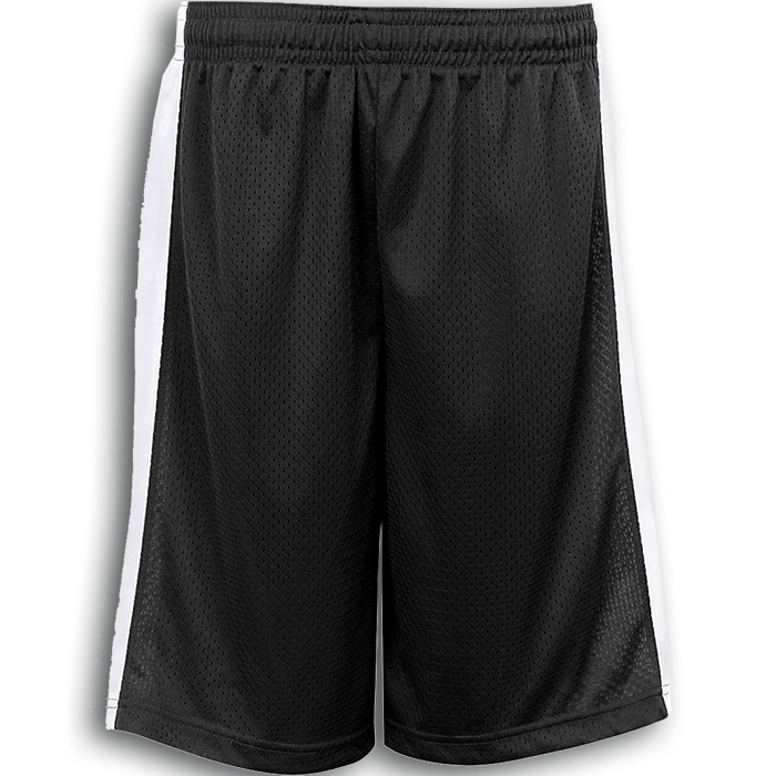 White basketball shorts clipart clip art free download Badger Challenger Reversible Jersey & Mesh Short   Pro-Tuff Decals clip art free download