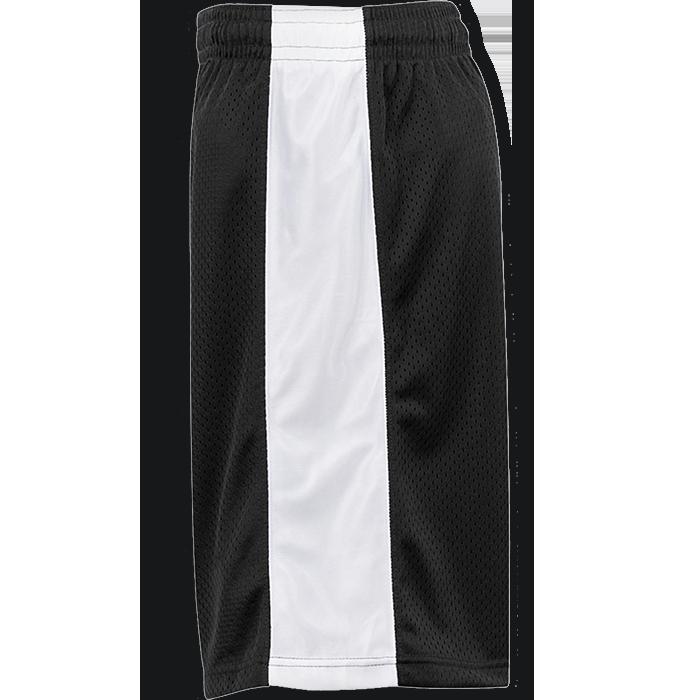 White basketball shorts clipart image black and white stock Badger Challenger Reversible Jersey & Mesh Short   Pro-Tuff Decals image black and white stock
