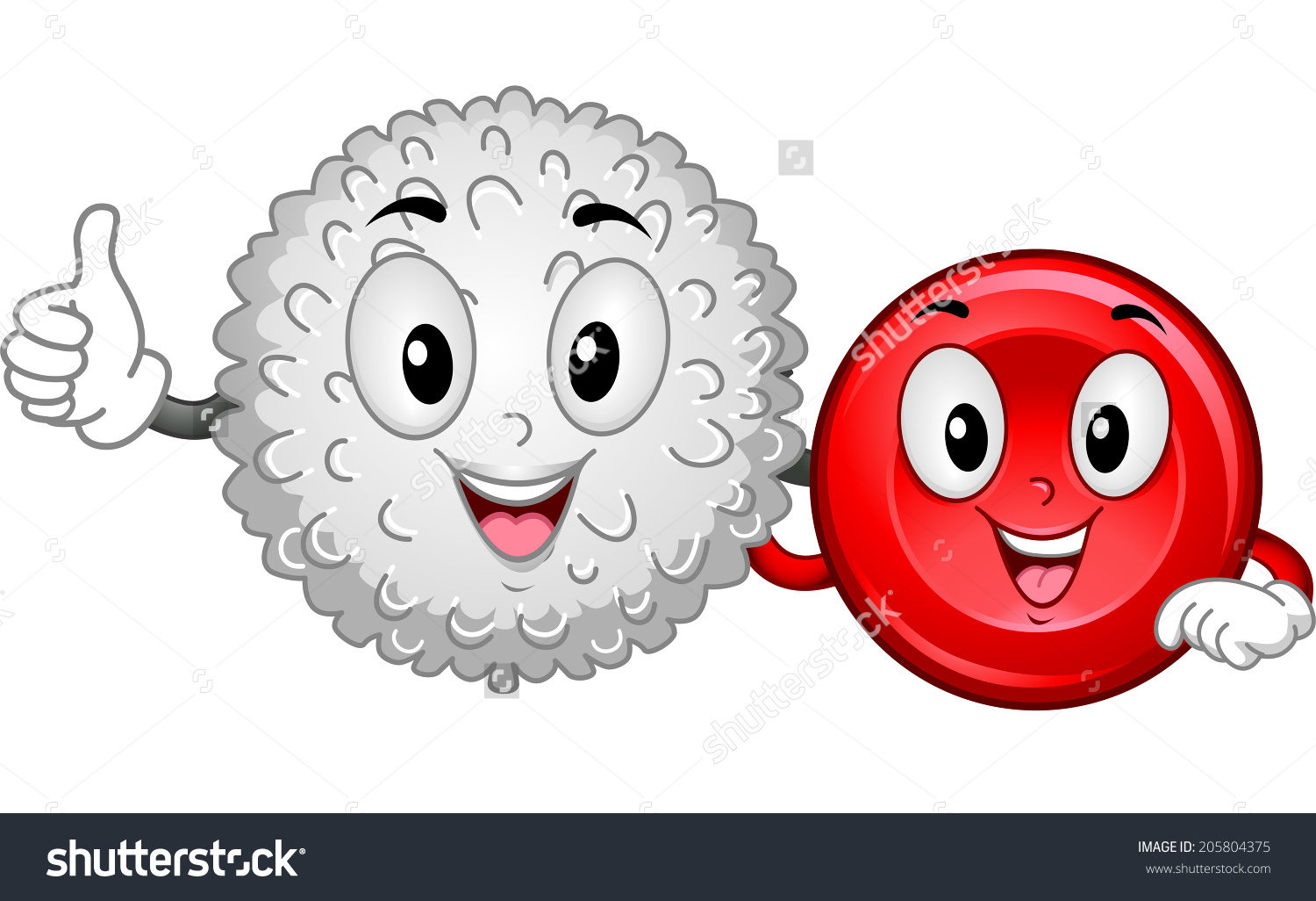 White blood cell clipart clip art transparent stock Mascot Illustration Featuring White Blood Cell Stock Vector ... clip art transparent stock