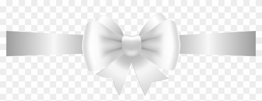 White bow with ribbon clipart clip free stock Clipart Bow Black And White - White Ribbon Bow Png ... clip free stock