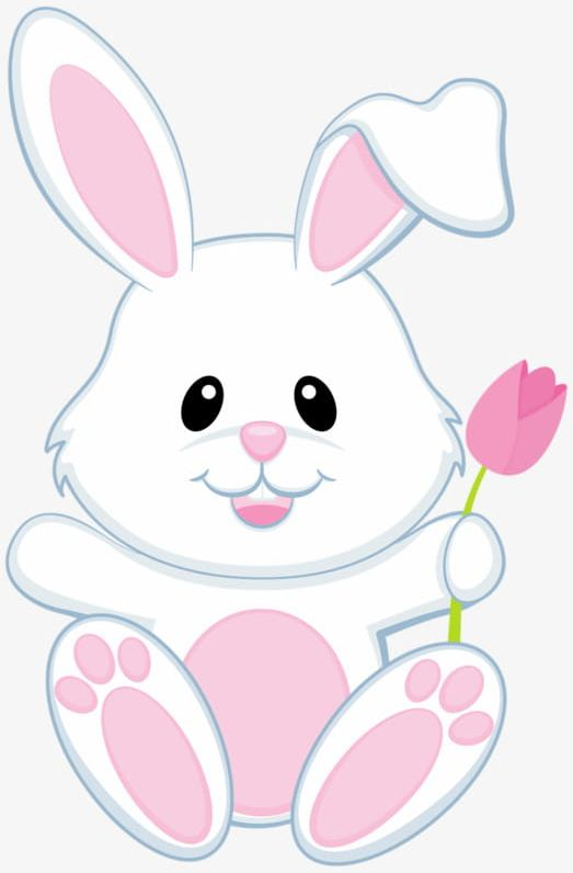 White bunny clipart vector free library Small White Bunny PNG, Clipart, Animal, Bunny Clipart, Hand ... vector free library