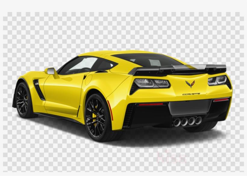 White c07 corvette clipart vector black and white library 2017 White Corvette Clipart 2017 Chevrolet Corvette - Yellow ... vector black and white library