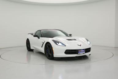 White c07 corvette clipart image royalty free 2016 Chevrolet Corvette Stingray Z51 image royalty free
