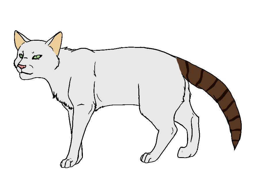 White cat with black patches clipart image royalty free stock ShadowClan by Twistedfoot on DeviantArt image royalty free stock