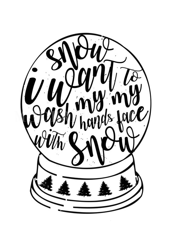 White christmas movie clipart graphic freeuse stock White Christmas Movie Song Quote Printable \