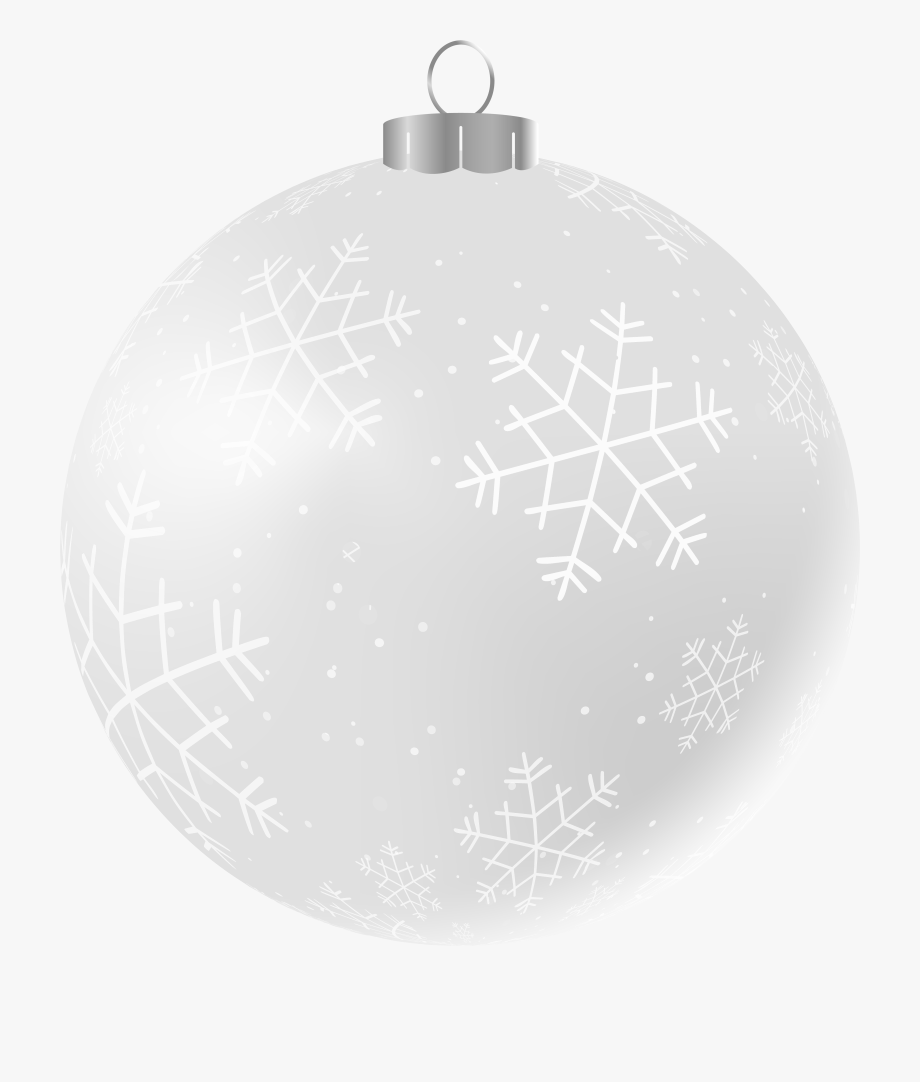 White christmas ornament clipart free image black and white download Ornament Clipart Black And White - White Christmas Ornament ... image black and white download