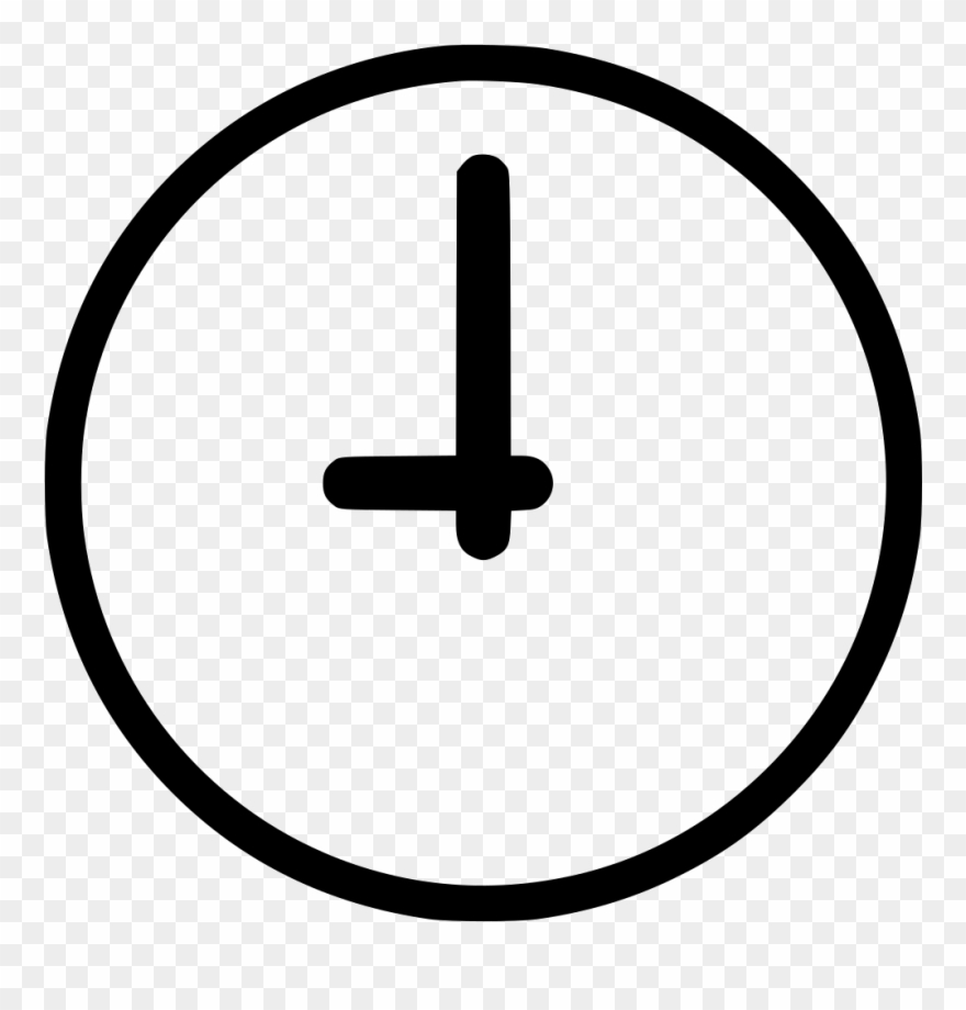 Time icon clipart picture black and white library Vector Black And White Library Clock Schedule Measure - Time ... picture black and white library