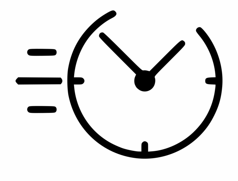 White clock icon clipart banner transparent library Svg Png Icon Free - Fast Clock Icon Png Free PNG Images ... banner transparent library