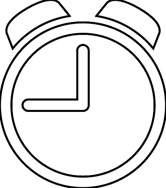 White clock icon clipart vector royalty free stock Orologio Clock Alarm Icon | Clipart Panda - Free Clipart Images vector royalty free stock